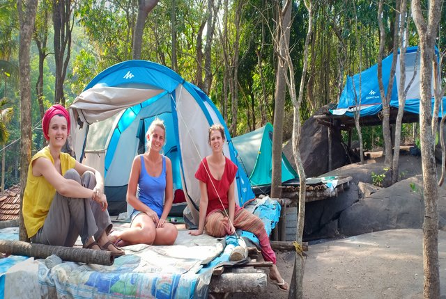 camping in wayanad