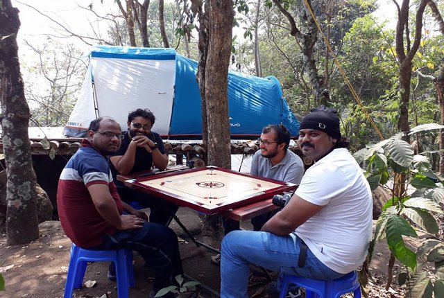 solo tent camping wayanad
