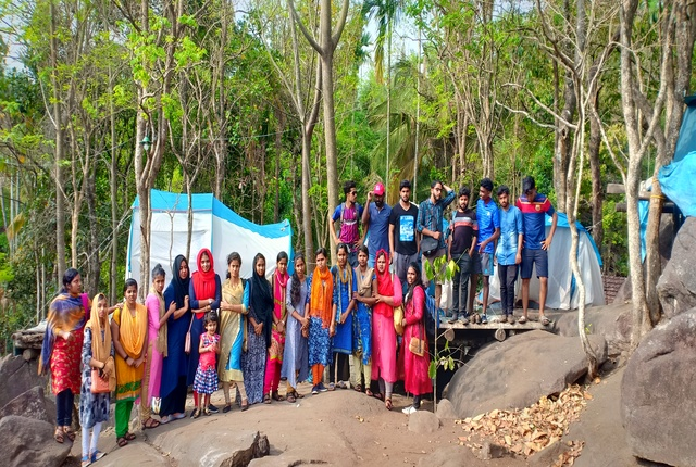 hill top camping kerala