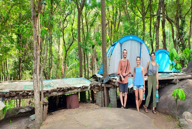 camping in south india ,wayanad